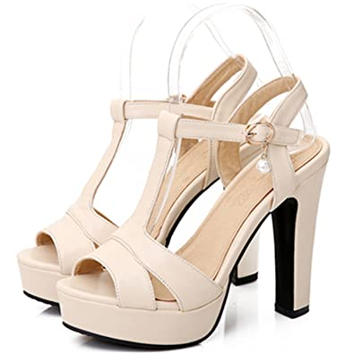845667f65f0e Plus Size 34-43 Hot Summer Women Sandals Fashion High Heels Sandal Sexy  Gladiator T