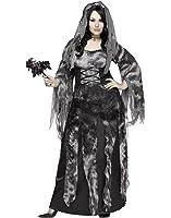 Fun World Women's Plus Size Cemetery Bride Costume