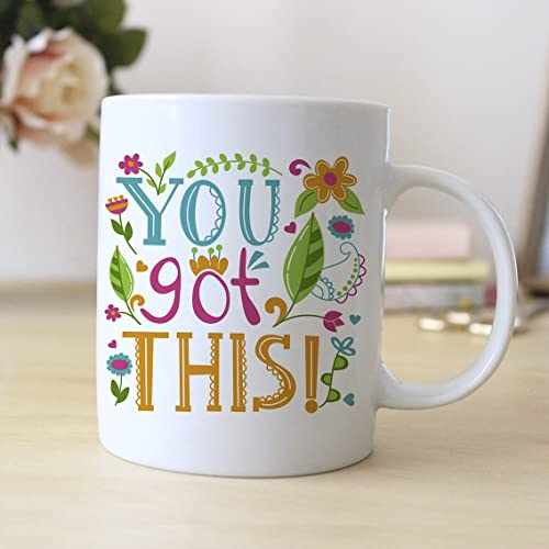 Colorful Motivational Coffee Mug