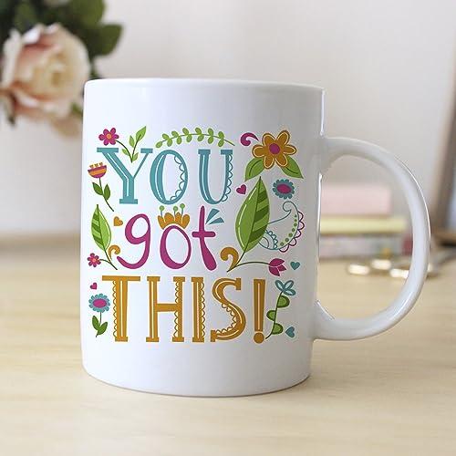 Colorful Motivational Coffee Mug