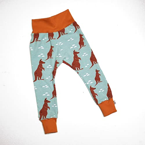 2bd6ffd3d Baby Kids Leggings - Handmade - Organic - Unisex - Kangaroos: Amazon.co.uk:  Handmade