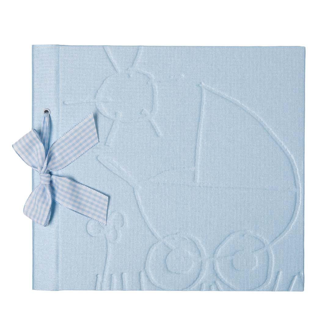 Pepa Paper - Libro bebé temático castellano Celeste