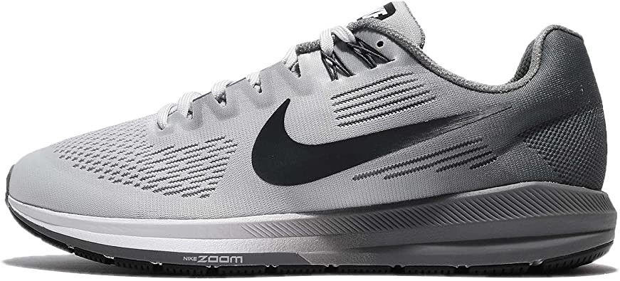 Nike Air Zoom Structure 21, Zapatillas de Running para Hombre, Dorado (Pure Platinum/Anthracite/Cool 005), 47.5 EU: Amazon.es: Zapatos y complementos
