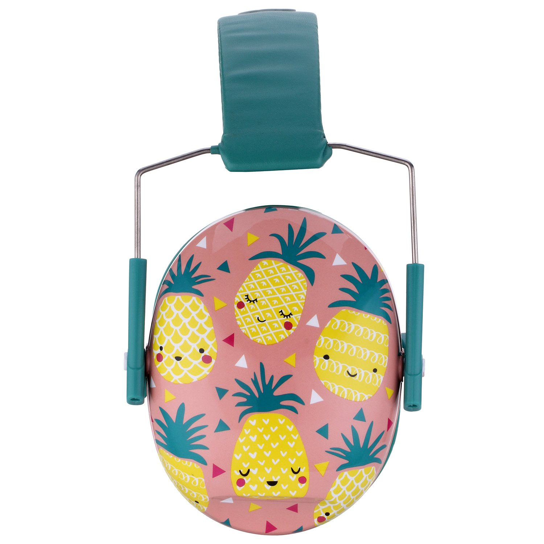 Pineapples Snug Kids Earmuffs//Hearing Protectors Adjustable Headband Ear Defenders For Children and Adults