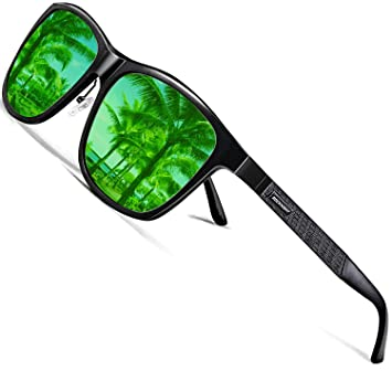 Amazon.com: Gafas de sol polarizadas Rocknight Al-Mg de ...