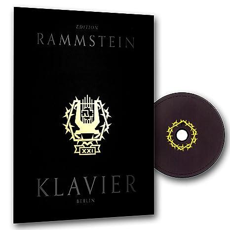 RAMMSTEIN - XXI KLAVIER - hochwertige Notenbuchausgabe mit Fadenbindung für Klavier und Gesang - Zum 21. Bandjubiläum ! inkl. CD [Noten/sheet music]