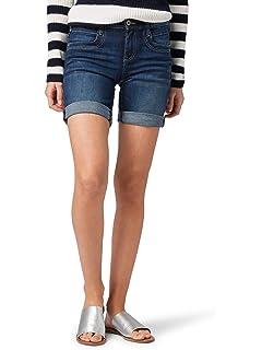 29e0ec113f1da6 TOM TAILOR Denim Damen Cajsa Denim Shorts: Amazon.de: Bekleidung