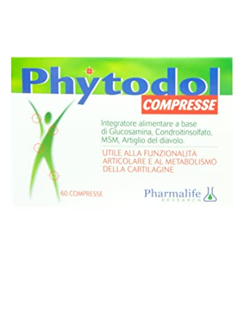 Pharmalife Phytodol tablets Food Supplement To The functionality Articulate 60 Tablets