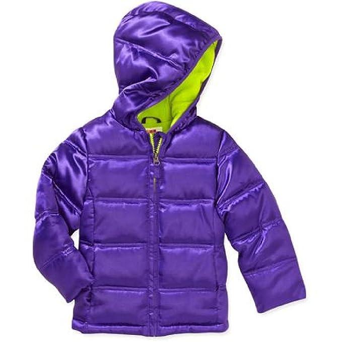 9fc216a98 Amazon.com  Healthtex Baby Girls  Purple   Green Bubble Jacket ...