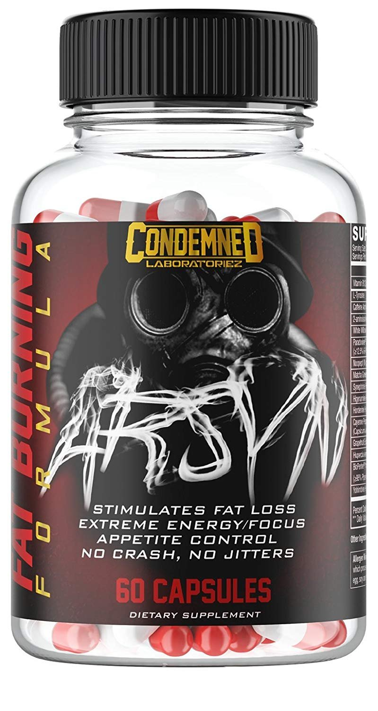 Condemned Laboratoriez, Arsyn, Strongest Fat Burner, 60 Capsules