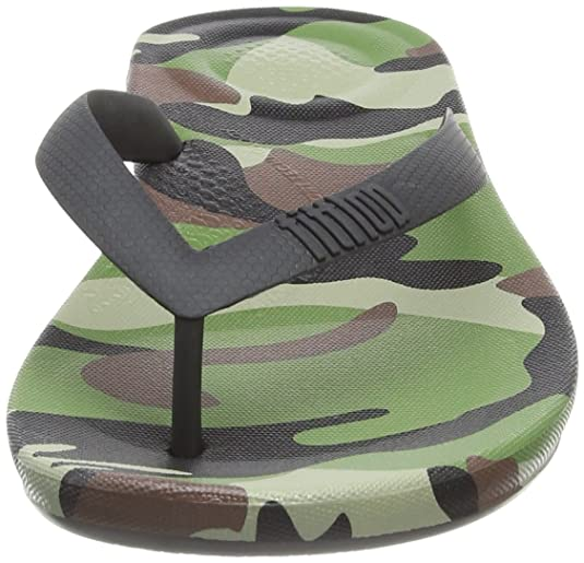 4f25fe9765ee Fitflop Men s iQushion Camo Open Toe Sandals  Amazon.co.uk  Shoes   Bags