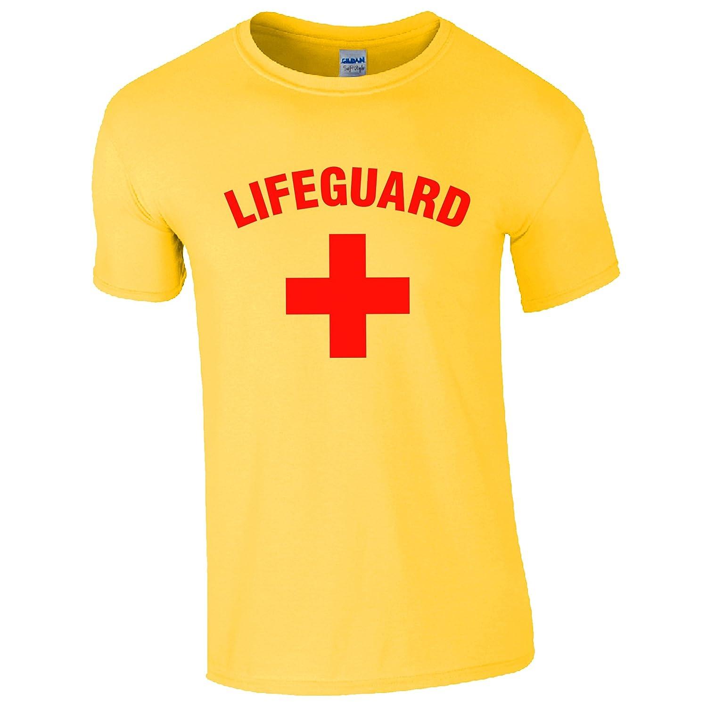 Lifeguard + Amarillo T Shirt: Amazon.es: Ropa y accesorios
