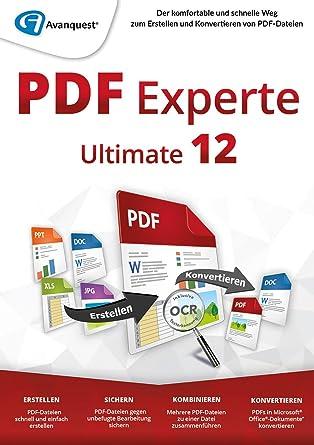 PDF Experte 12 Ultimate - Erstellen, konvertieren und bearbeiten von ...