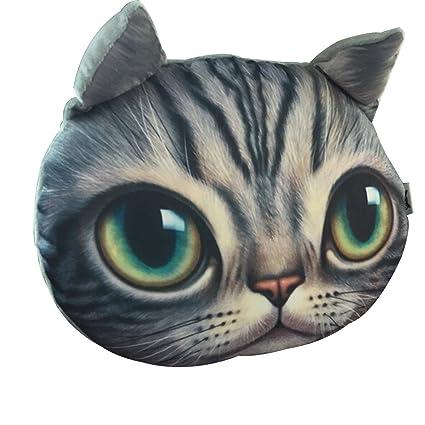 Cat Car Headrest Head Pillow