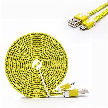 YANSHG® Micro USB Cargador rápido Cable Trenzado de Cable de ...