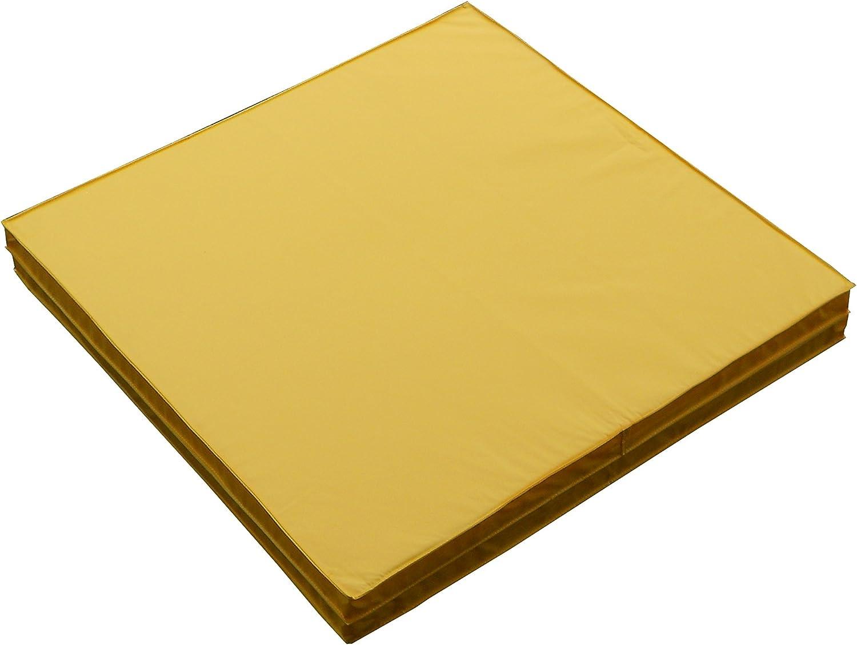 WATANABE(ワタナベ) 軽量折式カラーマット 黄 L-621Y 黄
