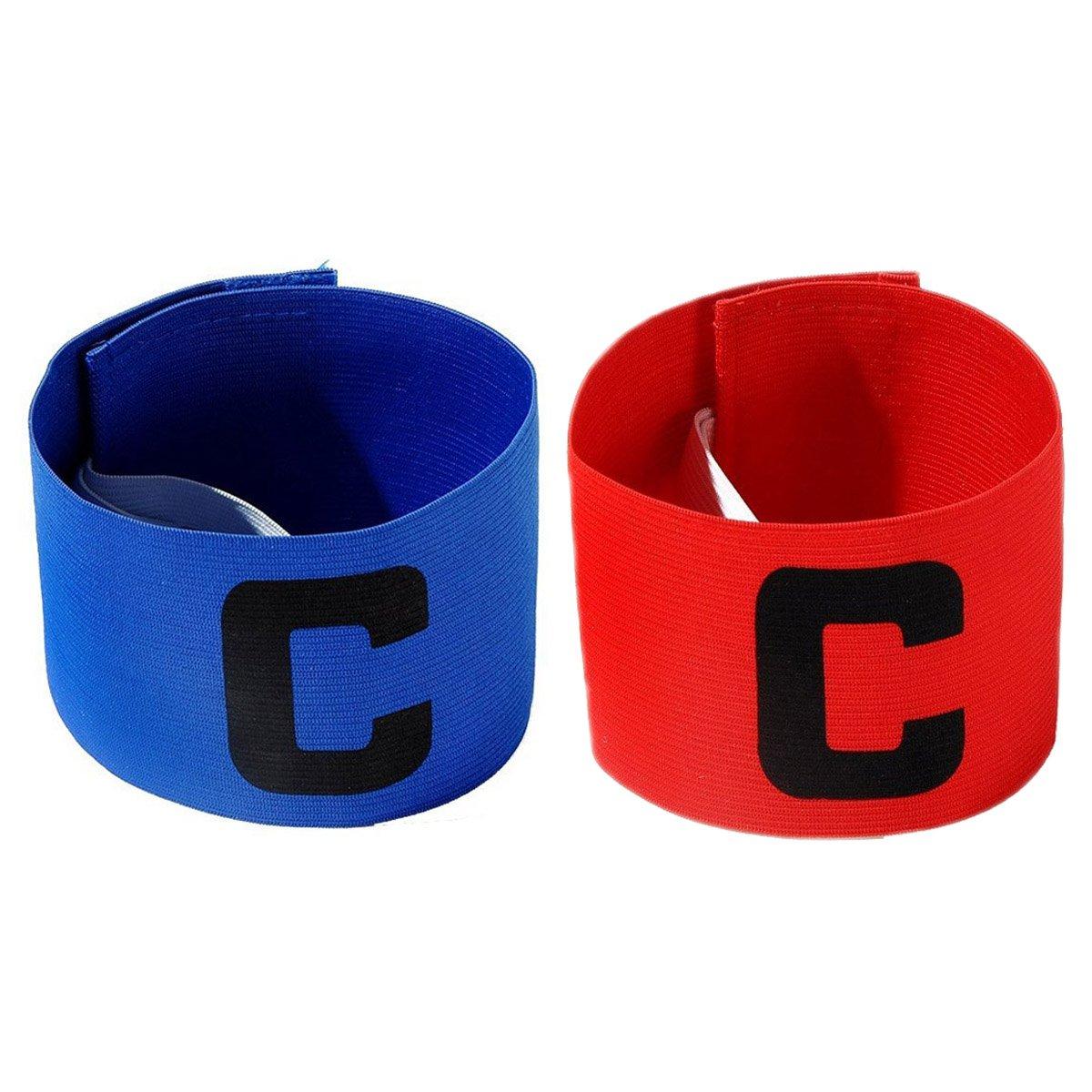 cjixnji Fußball Captain Armband,Junior Fußball Elastic Armbinden für Kinder, Klettverschluss für verstellbare Größe, geeignet für mehrere Sportarten wie Fußball & Rugby von
