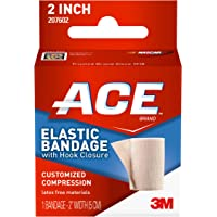 "ACE - 544825 2"" Elastic Bandage with Hook Closure, Beige (Pack of 2)"