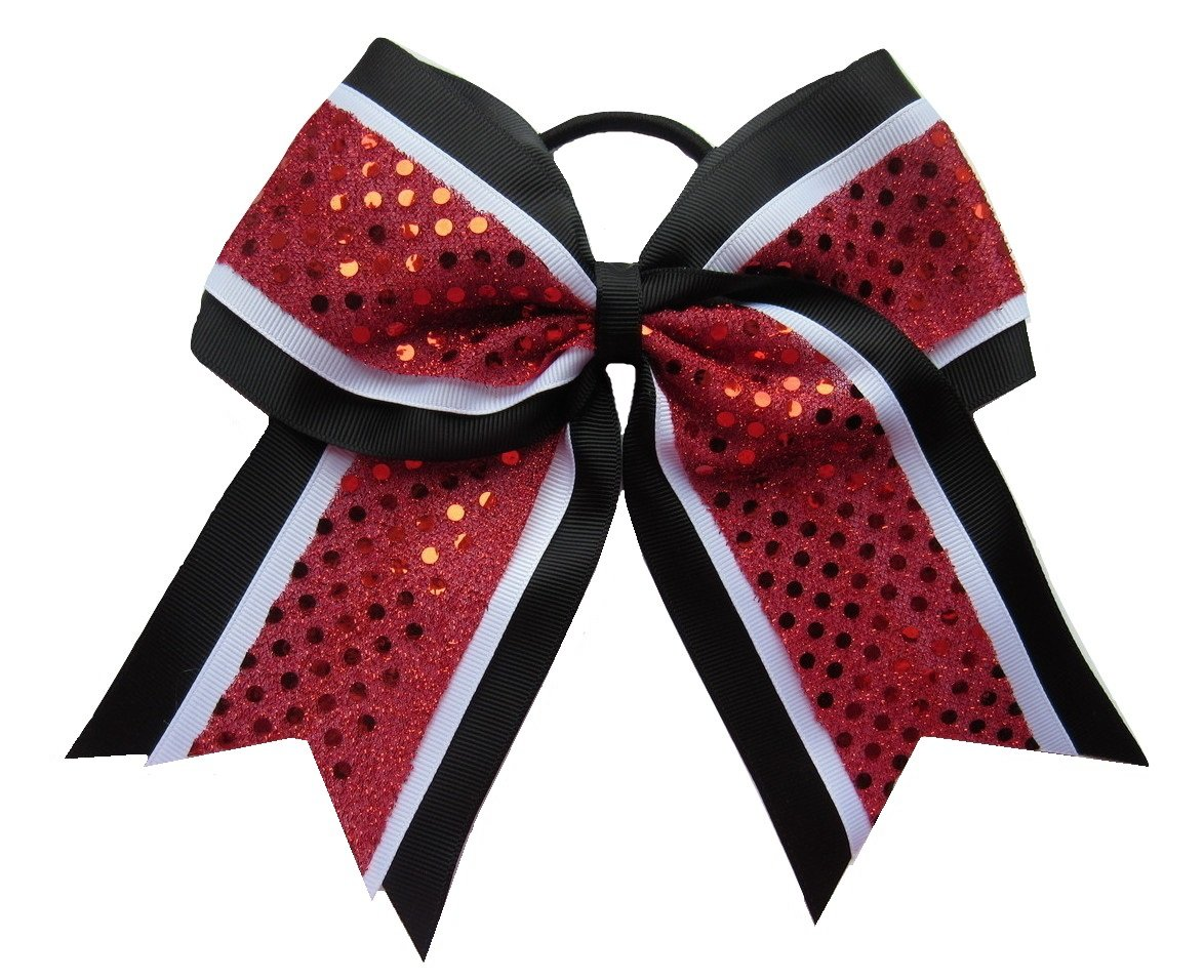 Lot of Pony Tail Cheer Bows-Choose Colors from 13 Colors//Designs 3 Brand New