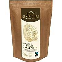 Sevenhills Wholefoods Pasta De Cacao (Licor, Masa) Orgánico De Comercio Justo, Obleas