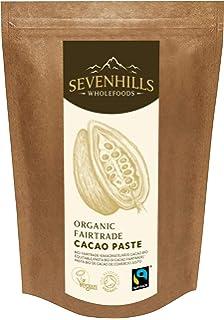 Sevenhills Wholefoods Pasta De Cacao (Licor, Masa) Orgánico De Comercio Justo, Obleas,…