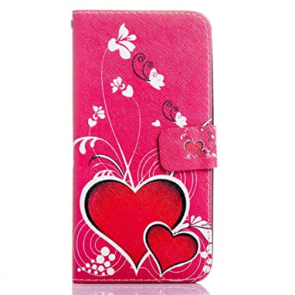 more photos 66878 2f446 ZTE Warp Elite N9518 (Boost Mobile) Case, Everun Flip Wallet Case for ZTE  N9518 with Stand Feature and Credit Card Slots Perfectly Fit for Smart ...