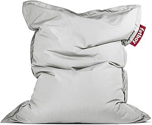 Fatboy Original Slim Outdoor Bean Bag Lounge Chair, Light Grey