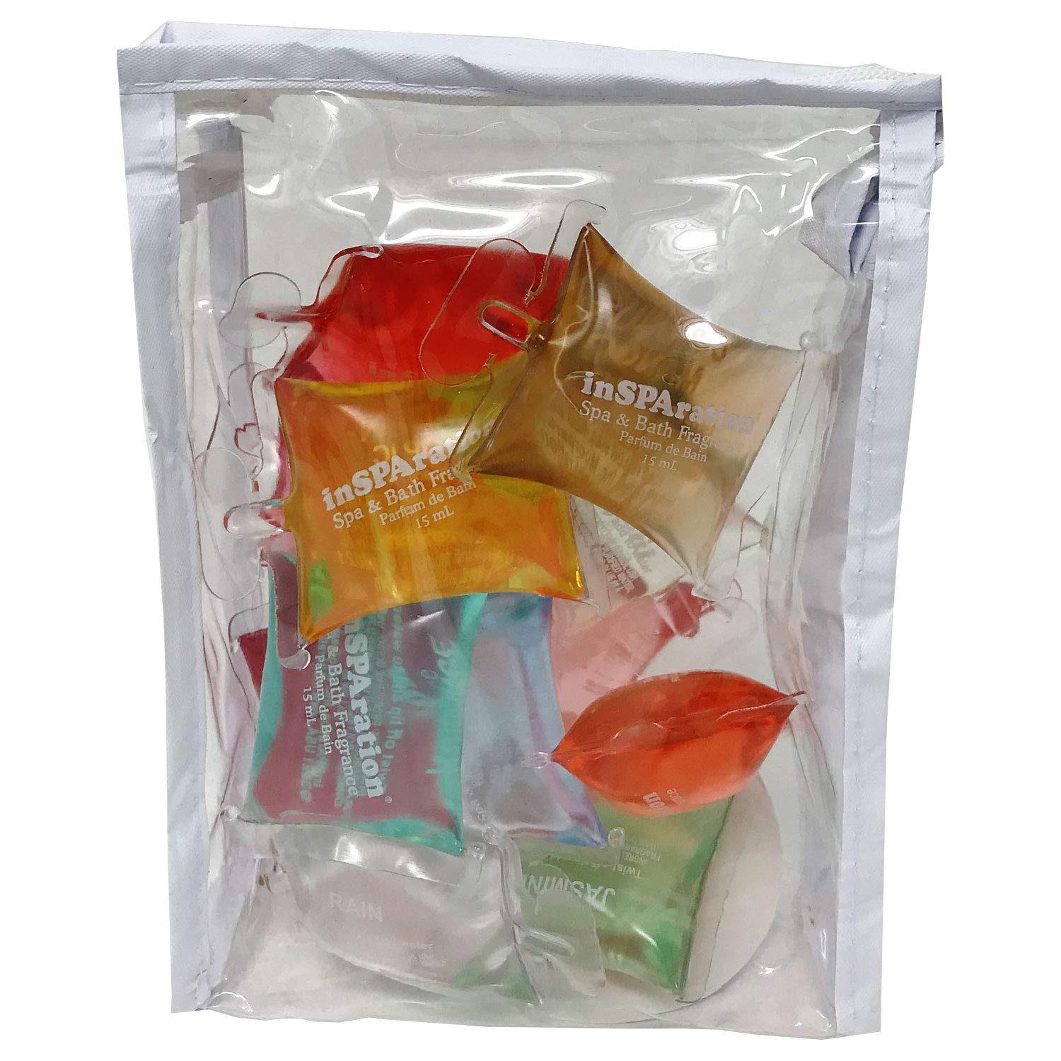 inSPAration Spa and Bath Aromatherapy Model# 151 Sample Gift Pack Bag, 1/2-Ounce by InSPAration