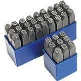 36 Chiffres et lettres à frapper 10 mm en acier trempé haute qualité