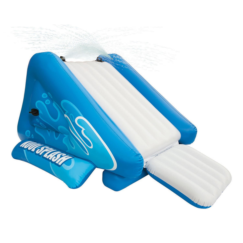 amazoncom intex kool splash inflatable swimming pool water slide accessory 58851ep toys games