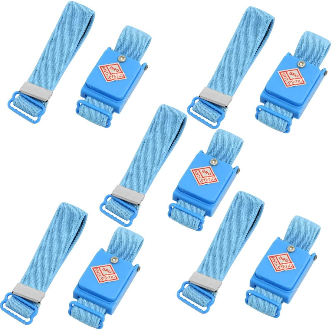 5pcs Wireless Cordless Anti-Static Wrist Band Strap ESD Discharge Electricity