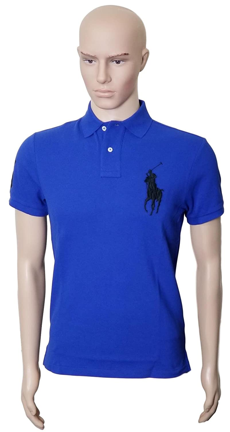 RALPH LAUREN Mens Polo Custom Fit Big Pony Mesh Shirt (XL ... 7af73737c05fb