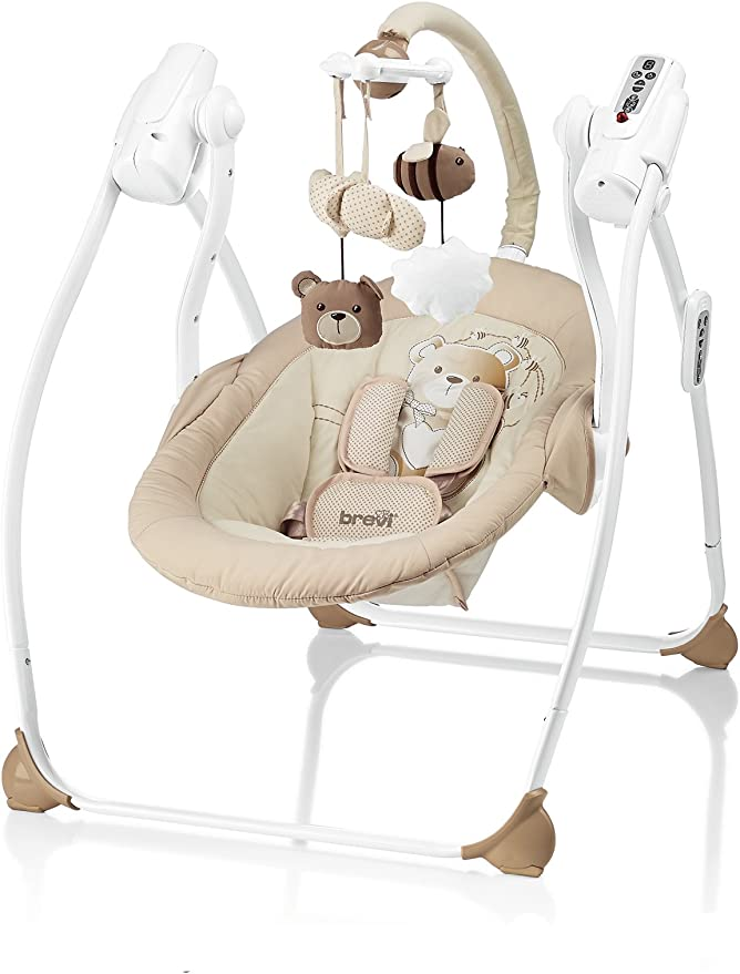 Brevi 559-553 Miou Columpio My Little Bear, Beige: Amazon.es: Bebé