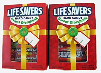 lifesavers hard candy sweet story book five flavor 6 ea pack of 2