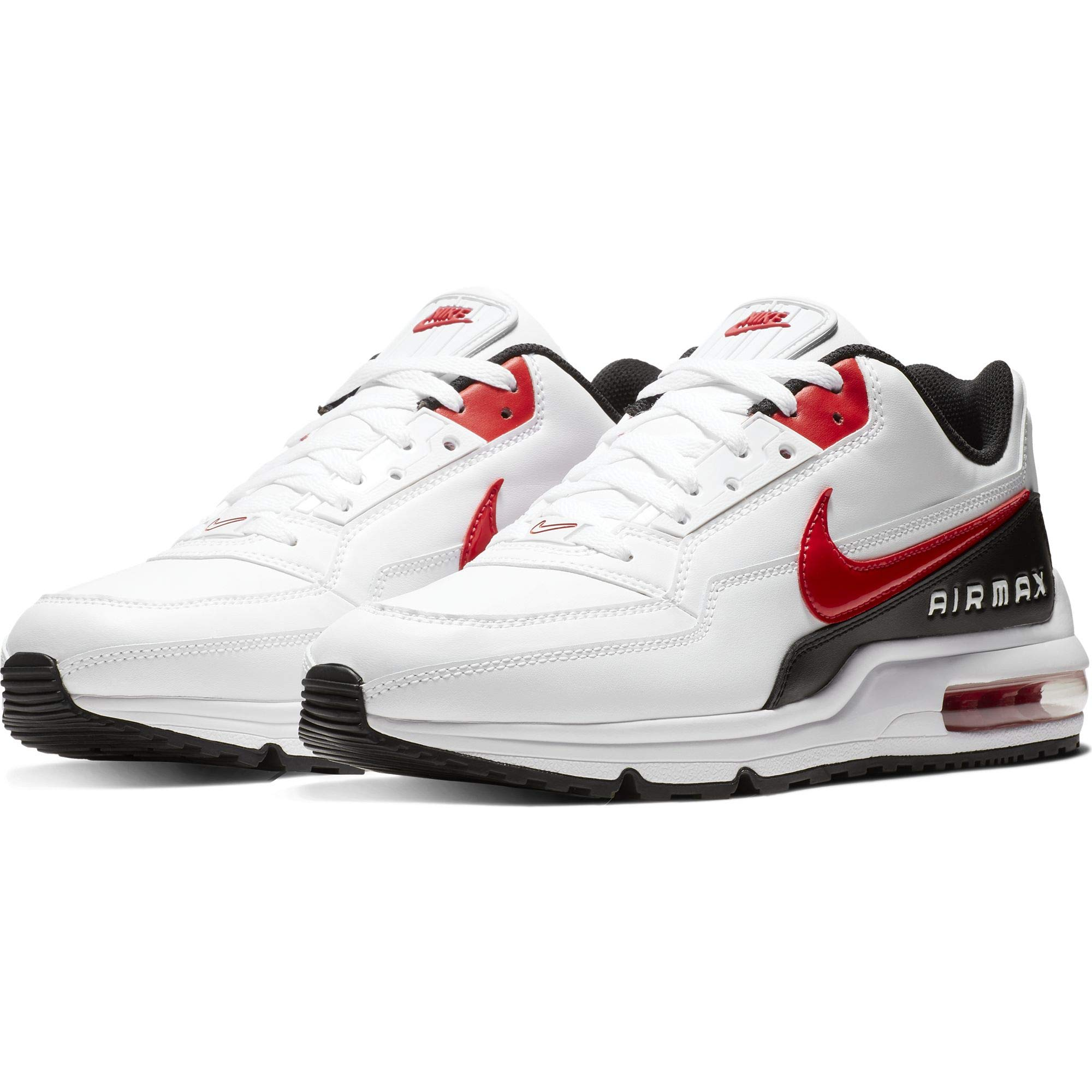 best service 281f8 c1aab Galleon - NIKE Air Max LTD 3 Men s Shoes White University Red Black  Bv1171-100 (8 D(M) US)
