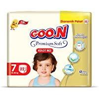 Goon Premium Soft Külot Bez, 7 Beden, Ekonomik Paket, 22 Adet, Beyaz