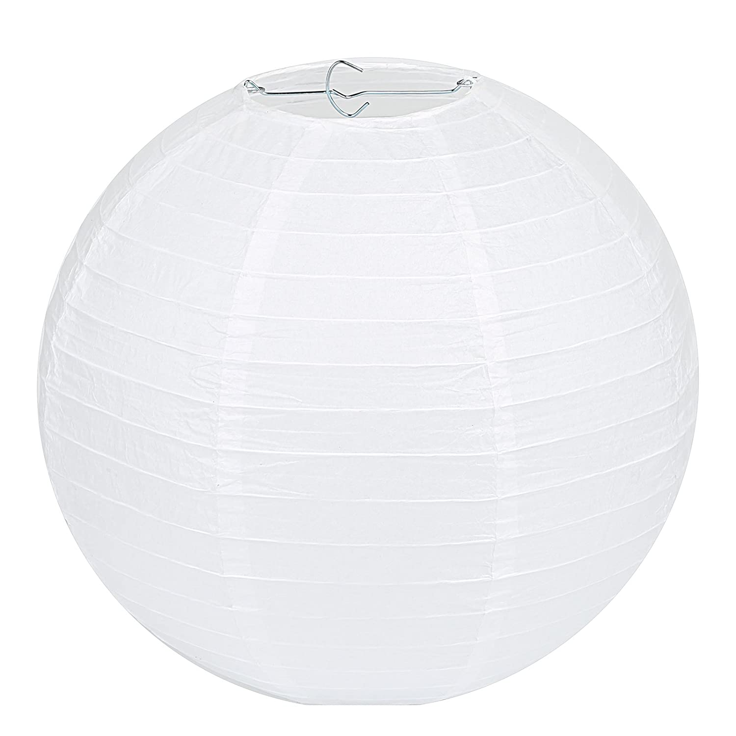 Paper lantern lamps amazon lighting ceiling fans novelty lihao 12 inch white round paper lanterns 10 pack aloadofball Gallery