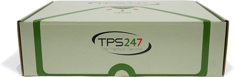 TPS247 Porte-documents DIN C5 pour A5 Transparent Autocollant
