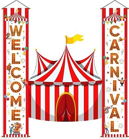 Amazon.com: Decoración para carnaval de circo, suministros ...