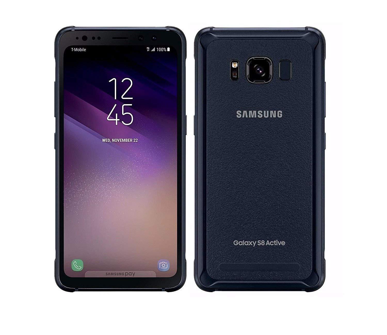 Samsung Galaxy S8 Active SM-G892U 64GB Meteor Gray - T-Mobile (Renewed)