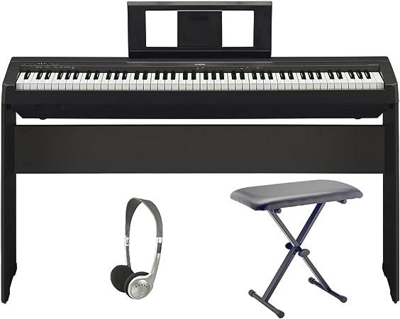 Piano digital Yamaha P45   Paquete Pro