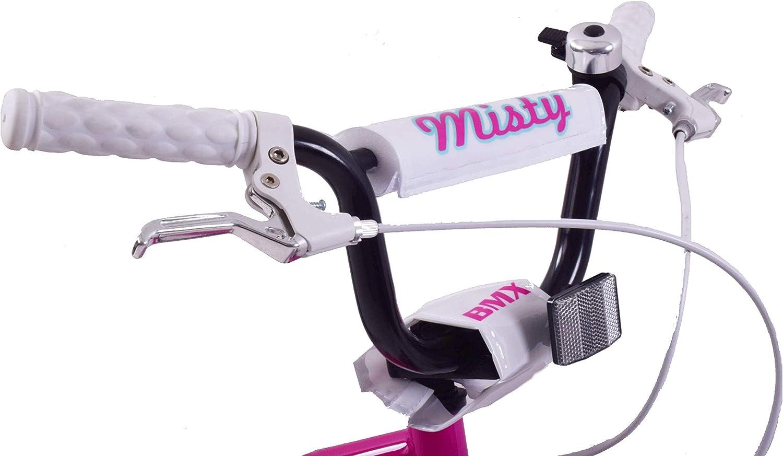 Ammaco Misty 16 Wheel BMX Girls Bike Pink /& Blue Age 5+