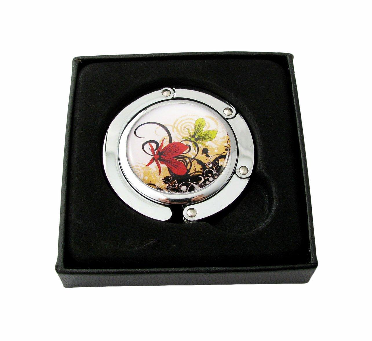 Handtaschenhalter - Taschenhalter Tisch - Papillons Volutes Design BagCentre 3662918000489