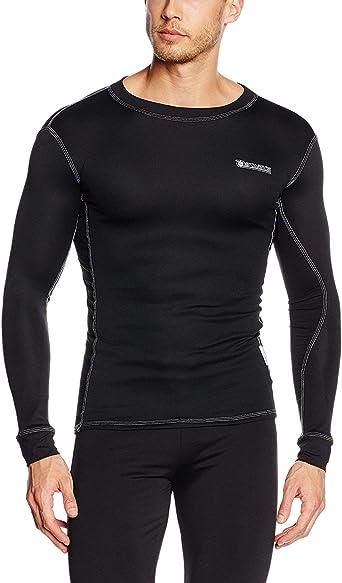 Starks lc0011 - Camiseta Coolmax termica para hombre, color negro, S: Amazon.es: Ropa y accesorios