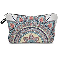 Amazon Price History for:Cosmetic Bag for Women,Deanfun Mandala Flowers Waterproof Makeup Bags Roomy Toiletry Pouch Travel Accessories Gifts…