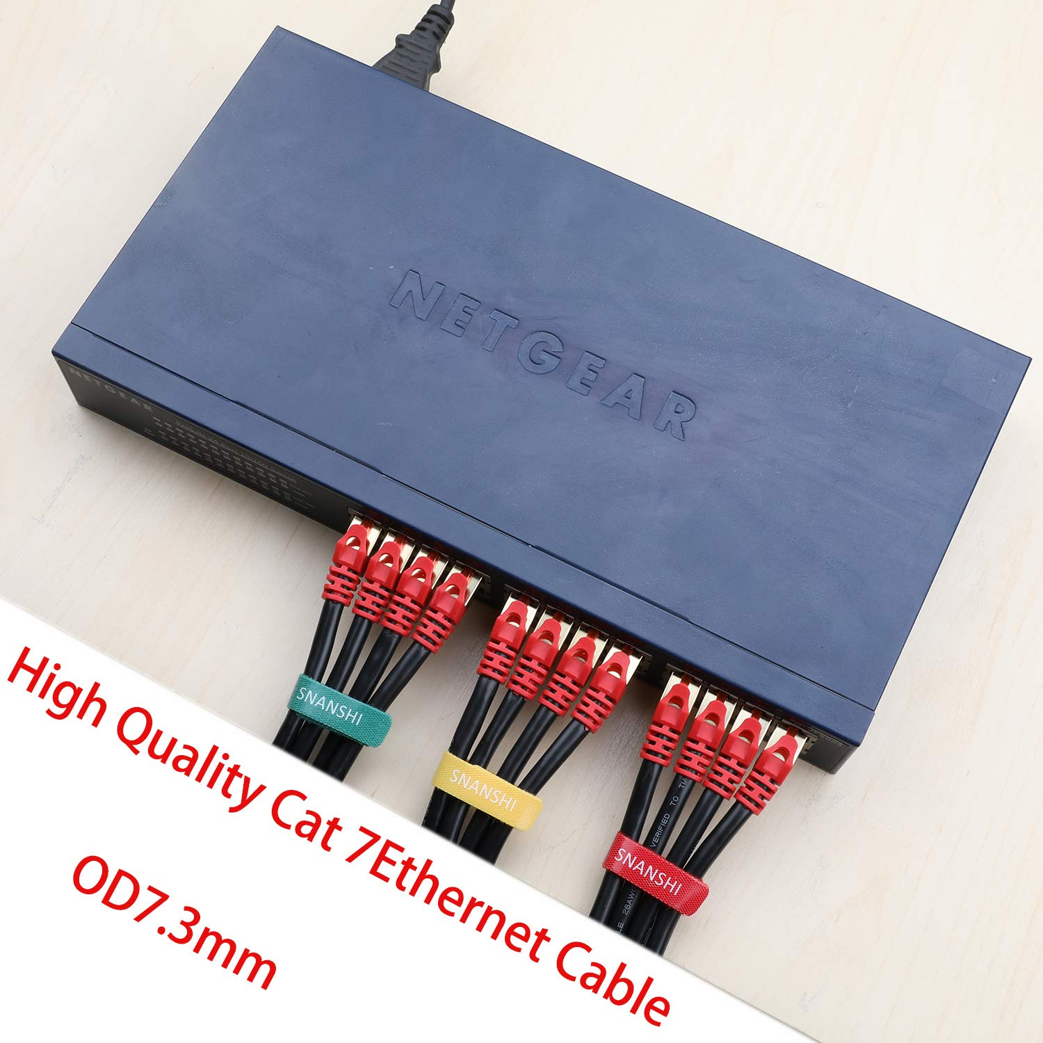 Cat 7 Outdoor Ethernet Cable 10m, SNANSHI Cat 7 Outdoor: Amazon.co ...