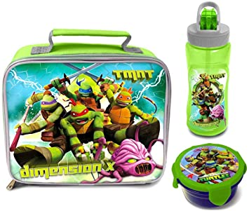 Teenage Mutant Ninja Turtles Dimensión X bolsa para el almuerzo/caja, con