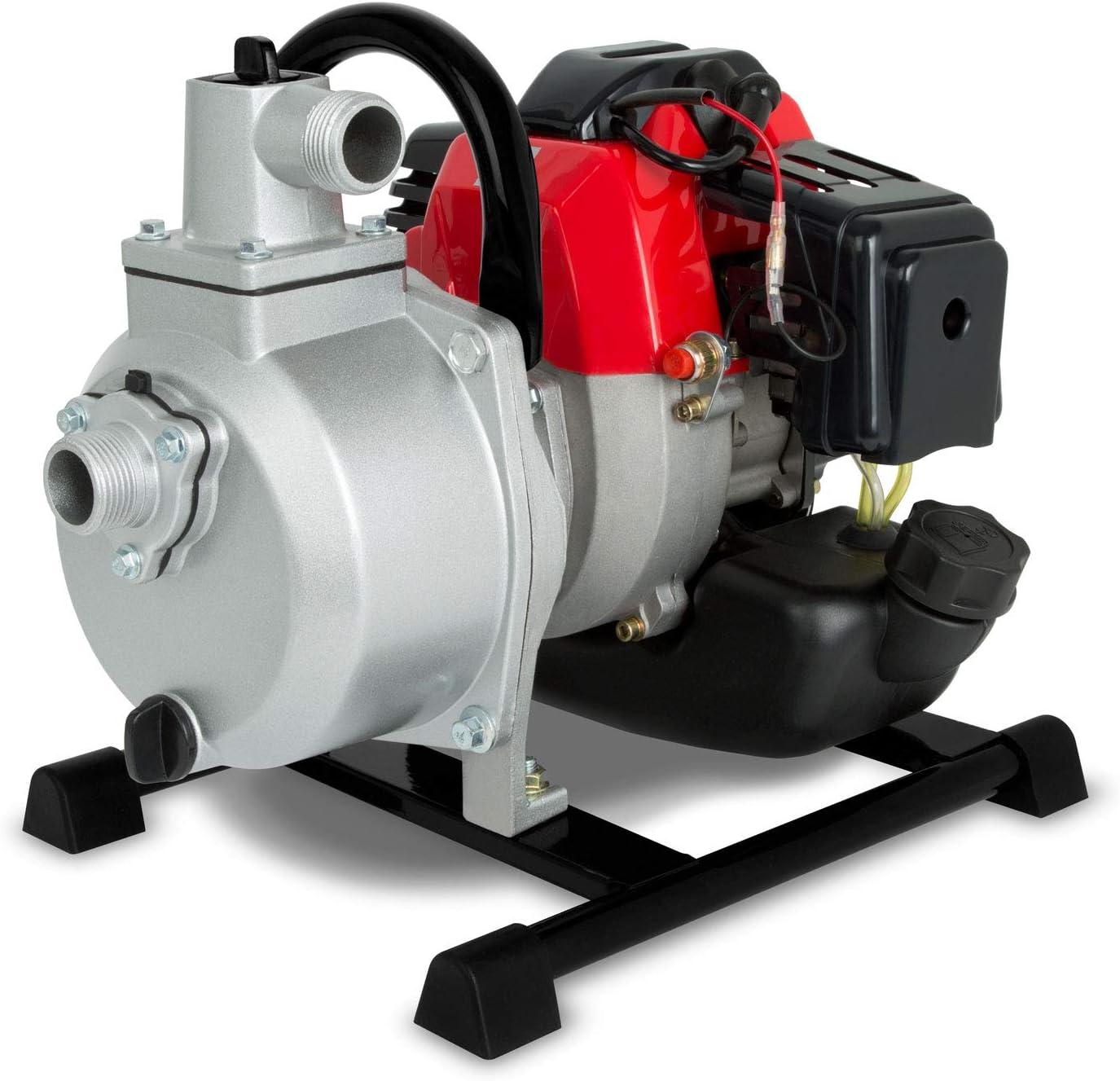Eberth 1 Benzin Wasserpumpe 12 500 L H 2 Ps Benzinmotor 1 Zoll Anschluß 17 5m Förderhöhe 7m Ansaughöhe Seilzugstart Alle Produkte