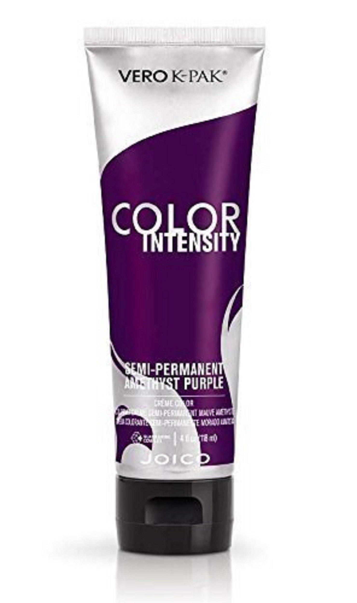 Joico Intensity Semi-Permanent Hair Color, Amethyst Purple, 4 Ounce