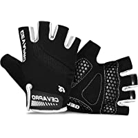 Cevapro Cycle Gloves Mountain Road Bike Gloves Half Finger Bicycle Gloves with Anti Slip Shock-Absorbing Gel Pad Cycling…